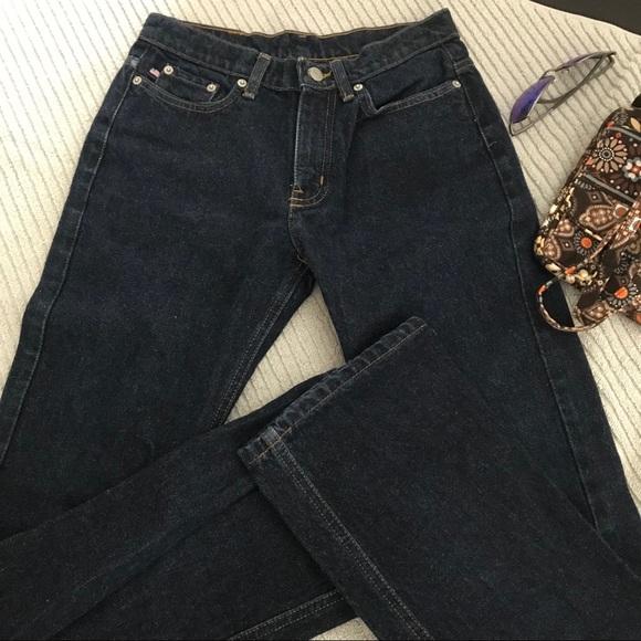 678202a5c Vintage Ralph Lauren High Waist Mom Jean Boot Cut